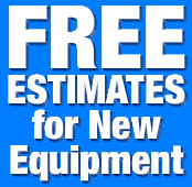 Free estimates for air conditioning, water heaters, heat pumps, plumbing